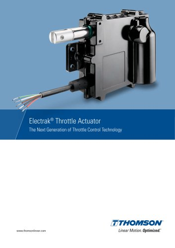 Electrak® Throttle Actuator