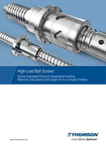 High-Load Ball Screws