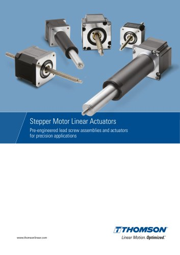 Stepper Motor Linear Actuators / Motorized Lead Screws