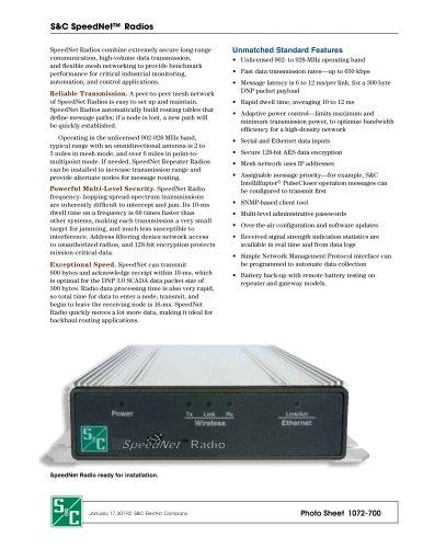 SpeedNet Radios