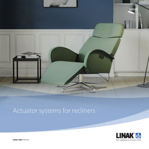 Actuator systems for recliners