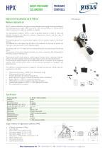 HPX High pressure calibrator Riels® Instruments