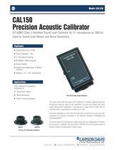 CAL150, Precision Acoustic Calibrator