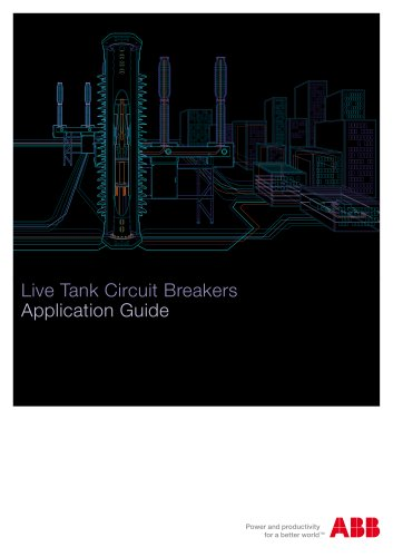 Live tank circuit breaker