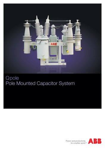 Pole Mounted Capacitor System Q pole