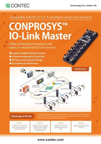 CONPROSYS IO-Link Master