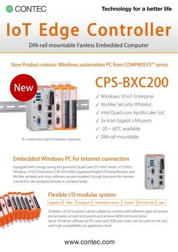 CONPROSYS IoT Edge Controller CPS-BXC200