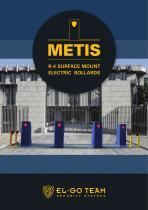 METIS K-4 SURFACE MOUNT ELECTRIC BOLLARDS