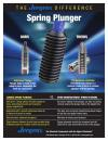 Spring Plungers Sheet