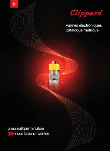 Vannes Electroniques Catalogue Métrique