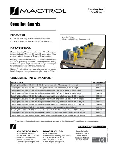 Coupling Guards