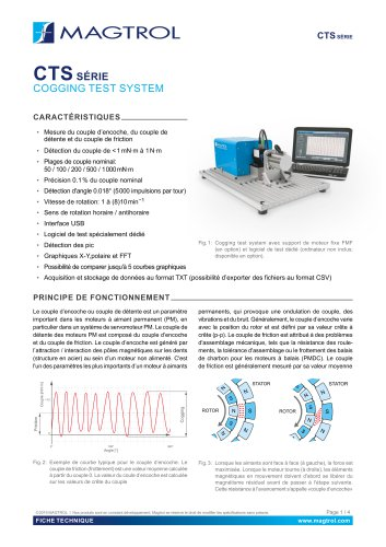 CTS Série | Cogging Test Système