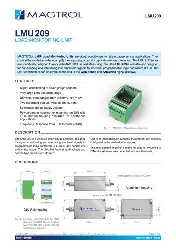 LMU 209 Load Monitorijng Unit