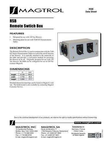 Remote Swtich Box