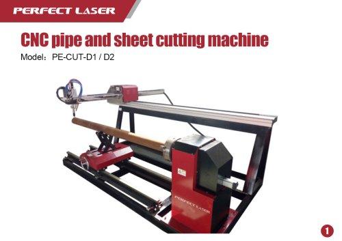 CNC pipe and sheet cutting machine