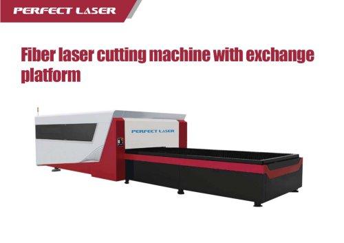 exchange table fiber laser makring machien PE--F3015II red