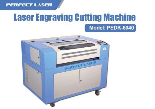 Perfect Laser-40w 50w 60w Small Desktop Co2 Laser Engravers PEDK-6040