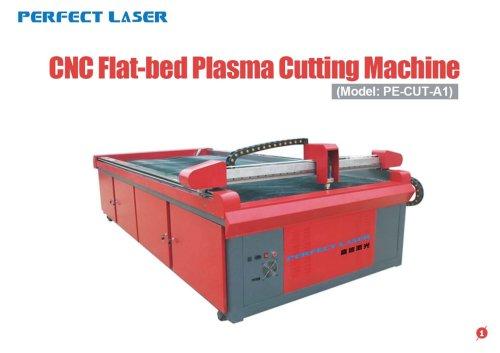 Perfect Laser-CNC Flat-bed Plasma cutting machine-PE-CUT-A1