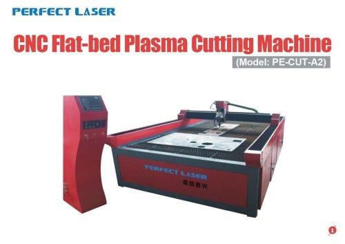 Perfect Laser-CNC Flat-bed Plasma cutting machine PE-CUT-A2