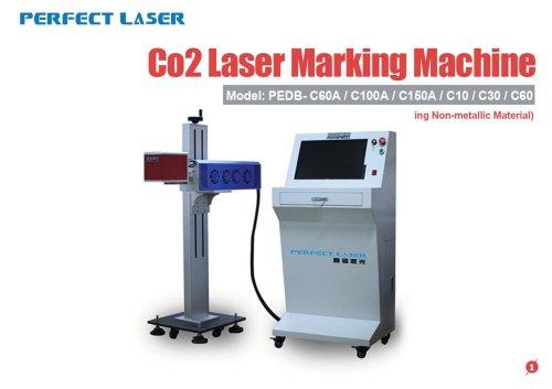 Perfect Laser-Co2 Laser Marking Machine PEDB-C60A C100A C150A C10 C30 C60