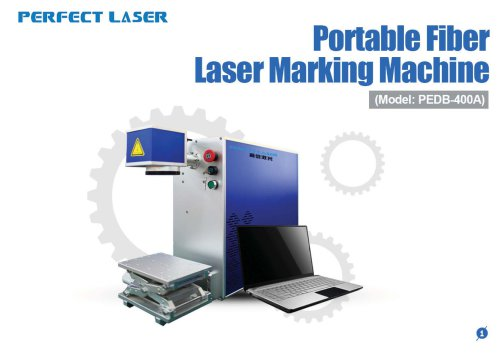 Perfect Laser - Fiber Laser Marking Machine PEDB-400A