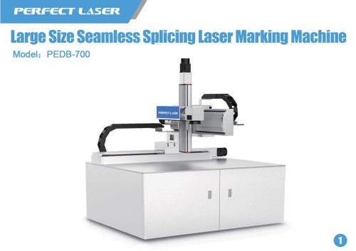 Perfect Laser Large Size Seamless Splicing Laser Marking Machine PEDB-700