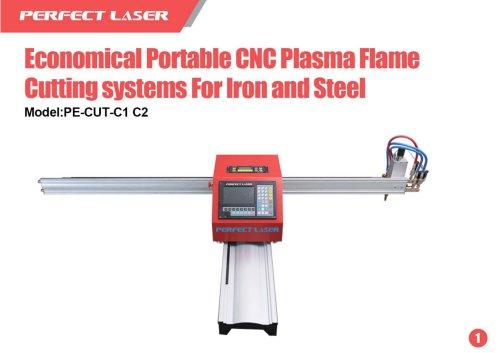 Perfect Laser Plasma laser cutter Economical Portable PE-CUT-C1 C2