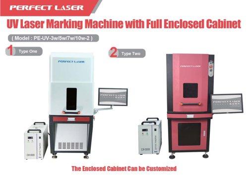 Perfect Laser UV laser marking machine PE-UV-3w 5w 7w 10w