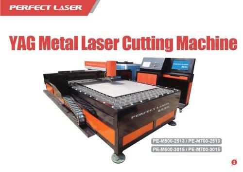 Perfect Laser-YAG Metal Cutting Machine PE-3015 PE-2513  500W 700W