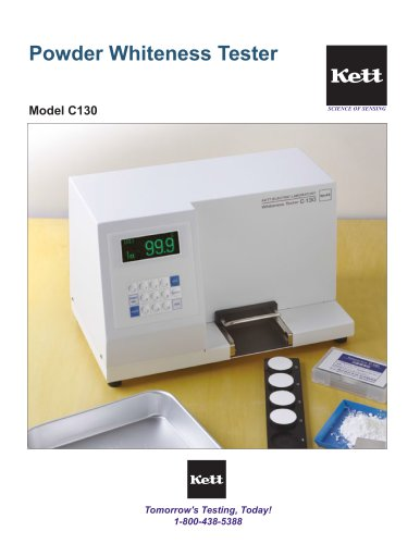C130 Powder Whiteness Meter