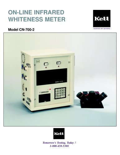 CN-700-2 On-Line Infrared Whiteness Meter