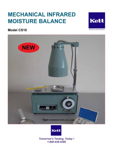 CS10 Mechanical Infrared Moisture Balance