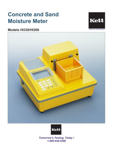 HI330 / HI300 Concrete and Sand Moisture Meter
