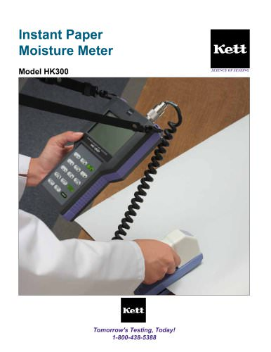 HK300 Advanced Paper Moisture Meter