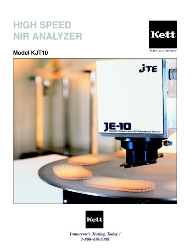 KJT10 High Speed NIR Moisture Meter