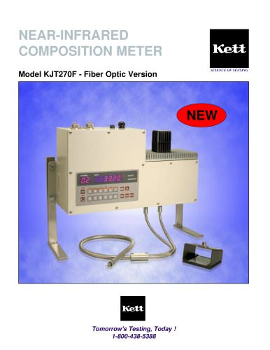KJT270F Fiber-Optic Composition Analyzer - Online or Deskto