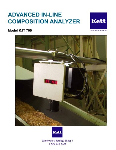KJT700 Advanced NIR Online Composition Analyzer