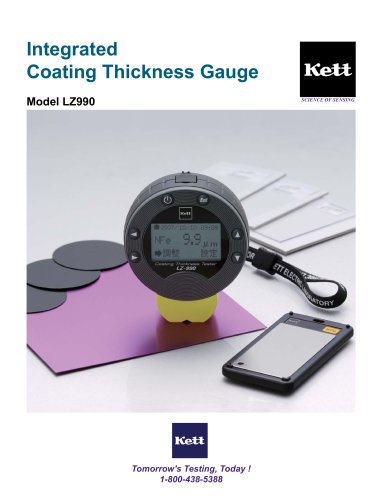 LZ990 - Integrated Compact Coating Thickness Gauge