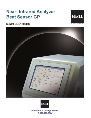 Near-Infrared Analyzer Beat Sensor GP BSS1700HO
