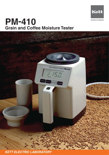 PM410 Grain and Coffee Moisture Tester
