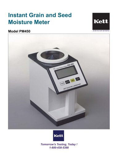 PM450 Portable Grain Moisture Meter