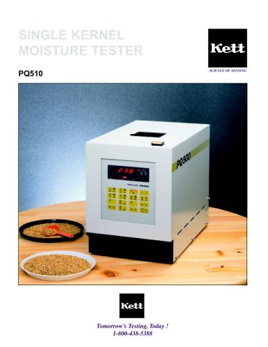 PQ510 and PQ100 Grain Moisture Meters