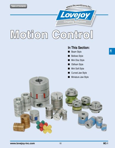 Motion Control Catalog