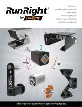 RunRight by Lovejoy Catalog