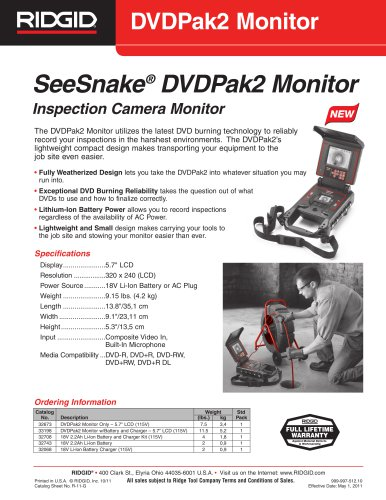 DVDPak2 Monitor