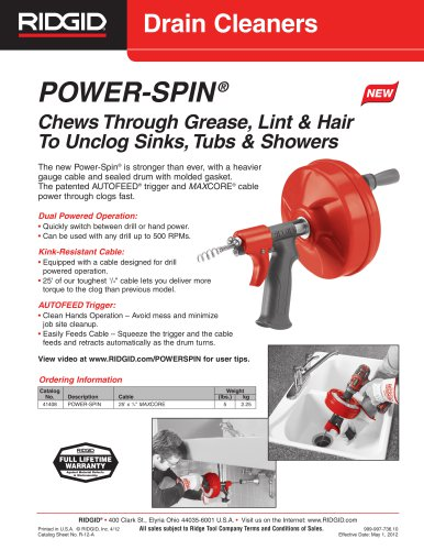 POWER-SPIN ®