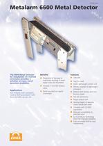Metalarm 6600 Metal Detector