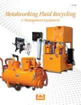 Metalworking Fluid Recycling & Management Equipment
