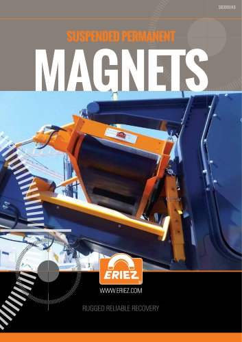 Suspended Permanent Magnets