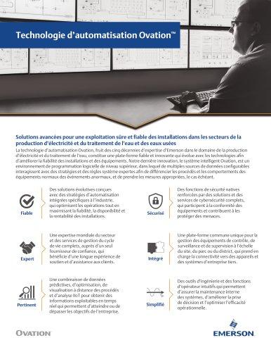 Technologie d'automatisation Ovation™